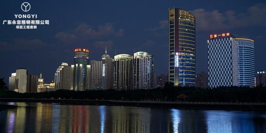 海南海口城市亮化工程项目