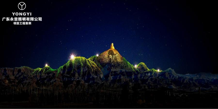 内蒙古乌海甘德尔山亮化