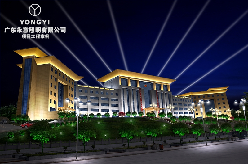 贵州习水县政府办公楼亮化项目