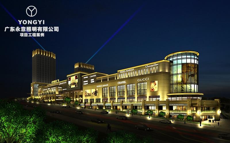 重庆城中城亮化